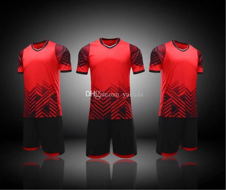 5bf584d7d 2019 Customized Soccer Team Blank Soccer Jerseys Sets