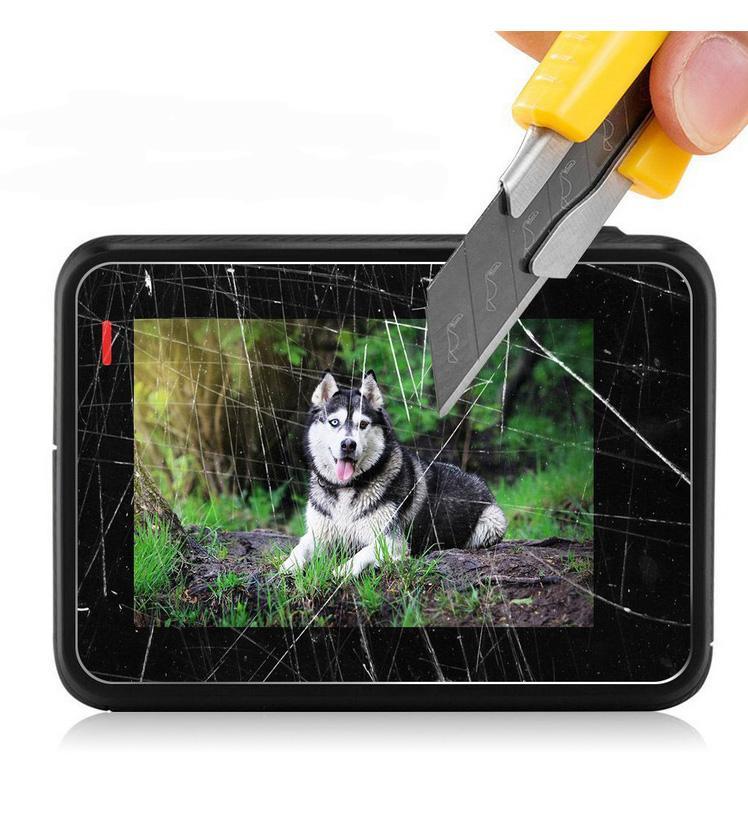 Para Gopro Hero 5 6 7 Protector de pantalla de cristal templado Película para proteger la pantalla de la cámara Pantalla LCD Para Gopro Hero 5 Negro Accesorios de cámara de acción