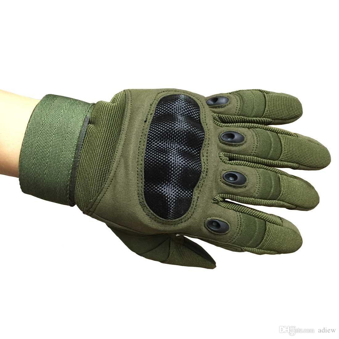 TouchScreen Tactical Gloves Military Hard Knuckle Outdoor Gloves Men Fit Cycling Motorcycle Hiking Camping Powersports Airsoft Paintball