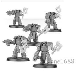 NEW forge world Space Marine CATAPHRACTII POWER AXE UPGRADE SET+ body  Complete set FREE SHIPPING