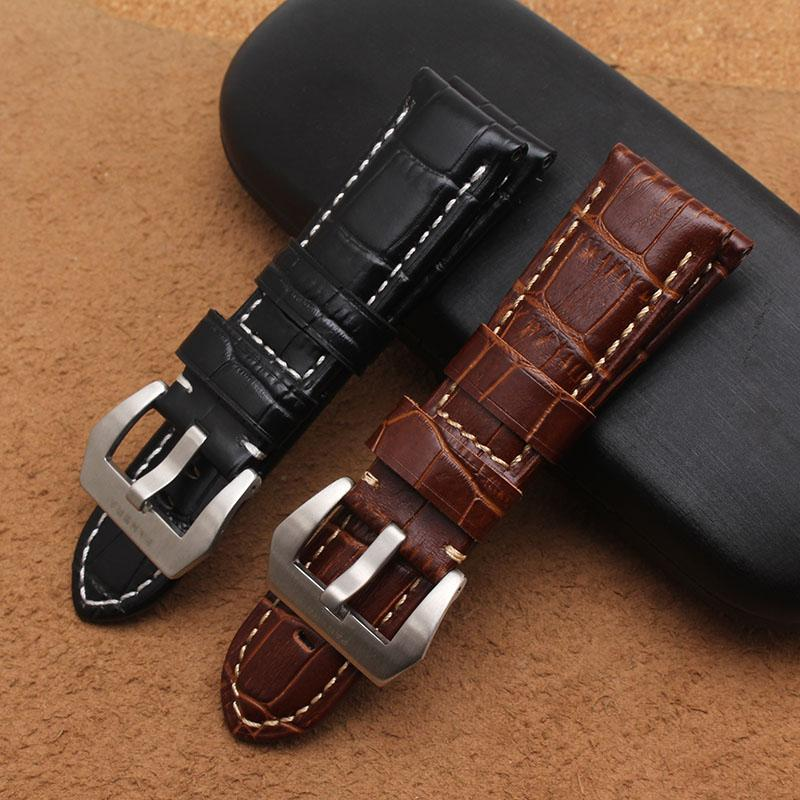 36818f285b0b High Quality Men The Crocodile Grain Stitches Pattern Genuine ...