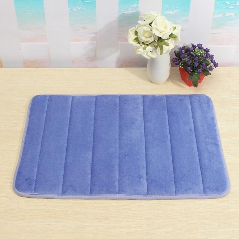 Wholesale- Memory Foam Mat Slip-resistant Pad Bathroom Shower Bath ...