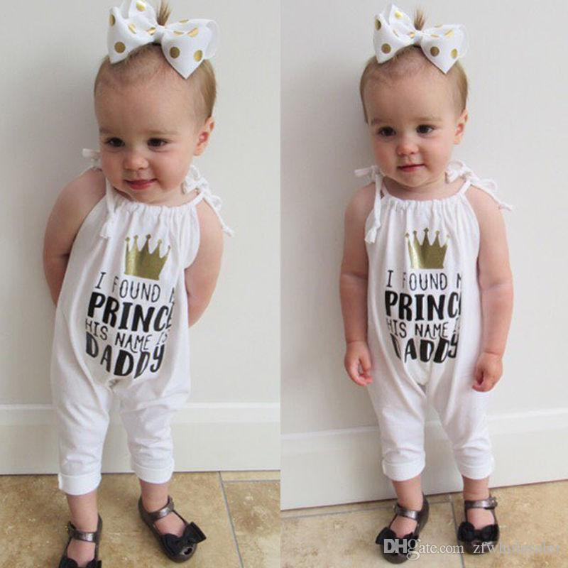 Baby Girl Clothing Toddler Outfit Kids Boutique Clothes Infant Romper Suit Children Summer Jumpsuit Babies Bodysuit Cool Onesies