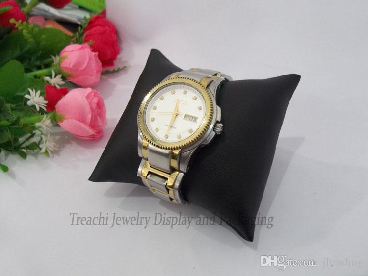 Jewelry Display PU Leatherette Velvet Cushion Pillow Bangle Bracelet Holder Stand box Watch Pillow Medium Size
