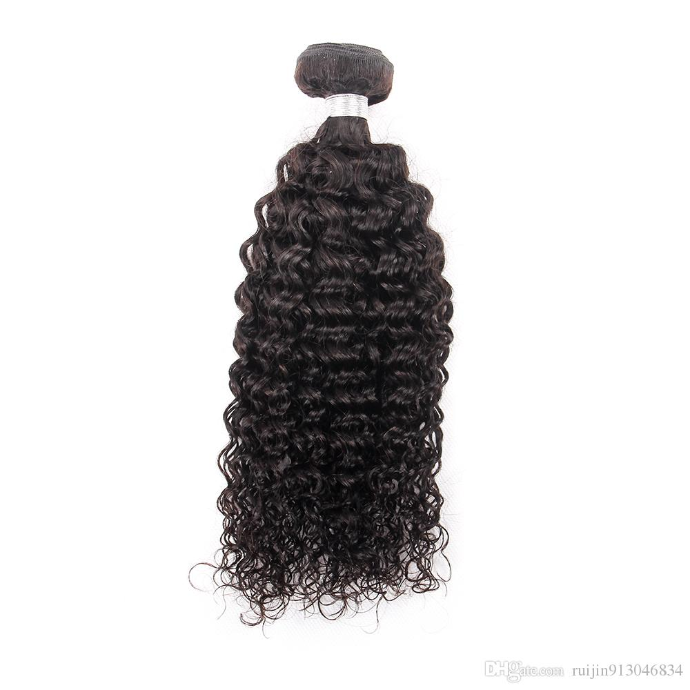 7A grade Brazilian Afro Kinky Curly Virgin Hair Weave Bundles Human Hair Extensions Double Weft Neat and Tight Can Be Dyed