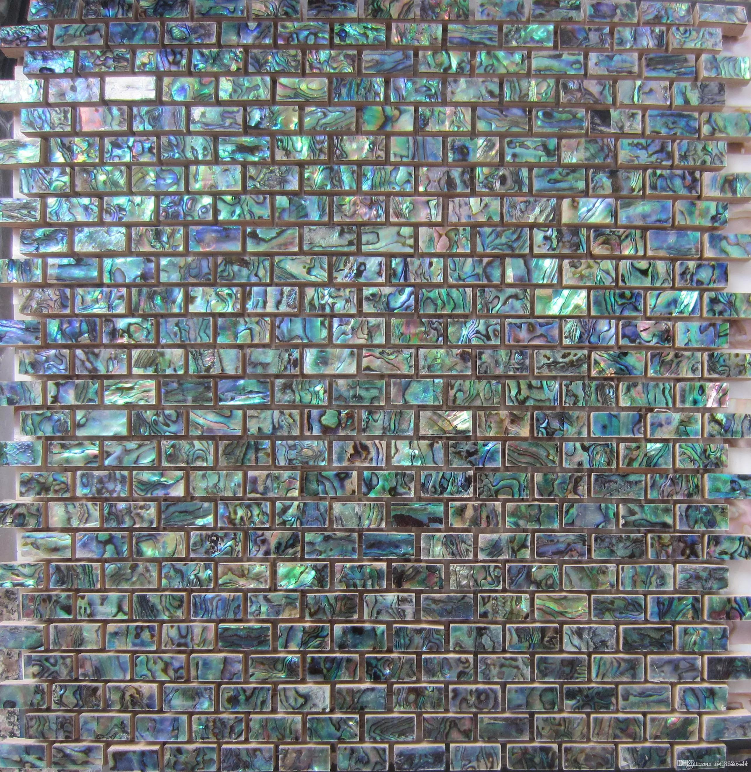 Green abalone shell mosaic tile on mesh with ceramic tile base green abalone shell mosaic tile on mesh with ceramic tile basebacksplash tilesbathroomtv backgroud wallmosaic tiles green green abalone mosaic ceramic ppazfo