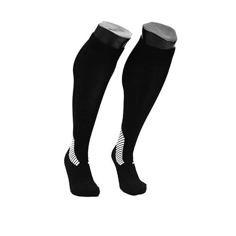 DHL Ücretsiz kargo Lian LifeStyle Büyük çocuğun 1 Çift Diz Yüksek Sıkıştırma Spor Çorap Sürme çorap Sıkıştırma koşu çorap