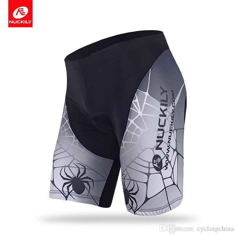 b1f18870d NUCKILY Summer Men s Cycling Shorts with Spider Net Sublimation Bike ...