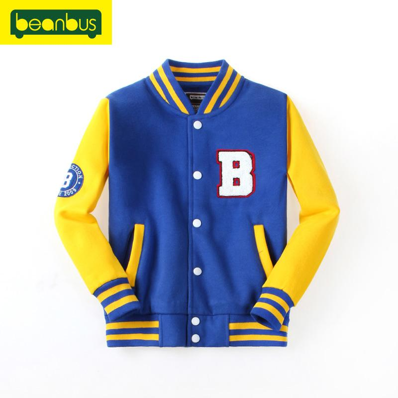 Beanbus Children'S Clothes Jackets Cardigan Boys Bomber Jacket ...