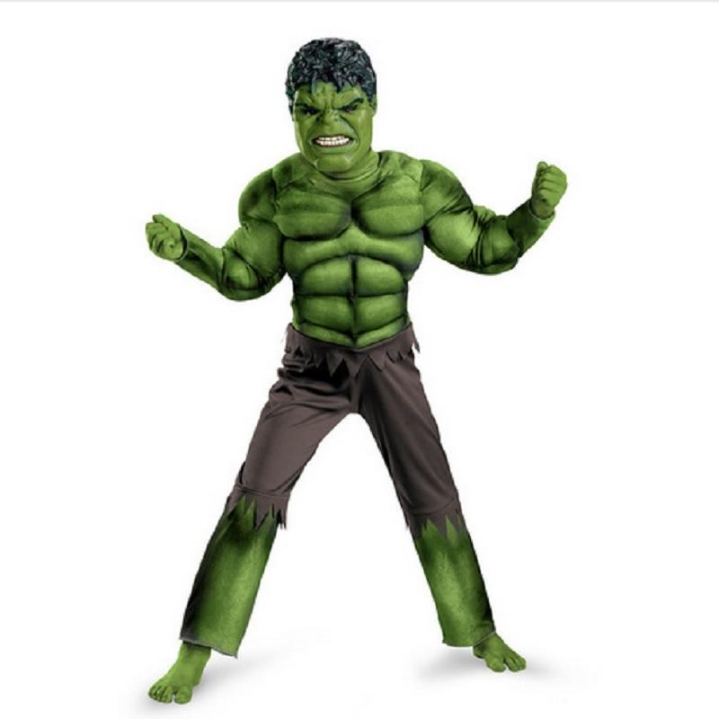 hulk costume kids boys adult men incredible childrens superheroes avengers hulk halloween muscle green cosplay costumes group costumes for 2 5 people