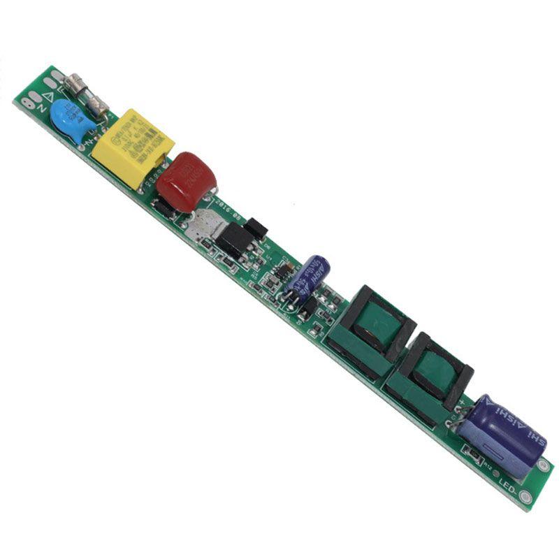 AC85-265V 50 / 60Hz DC25-80V 12-36w T5 T8 T10 Tubo LED non isolato Tubo conduttore non isolato Alimentatori Trasformatori di illuminazione