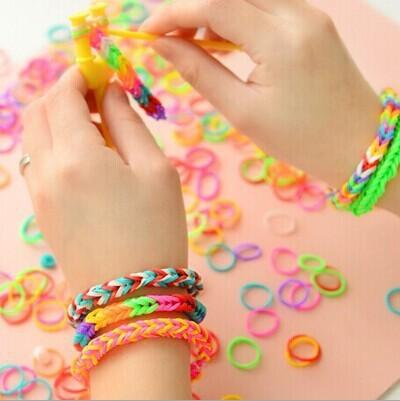 bracelet snapguide guides rubber simple how loom make to ac a band rubberband