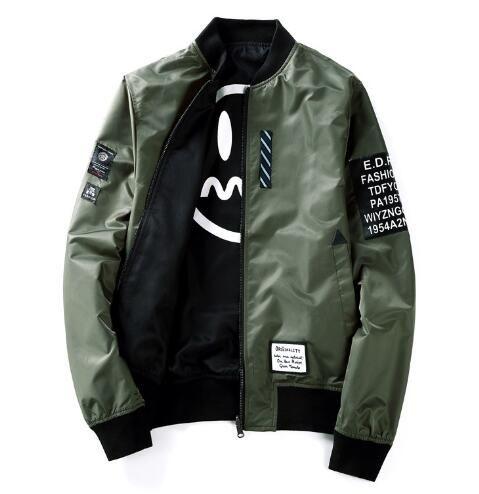 Ma1 Bomber Jacket New Japan Style Reversible Men S Jacket Baseball