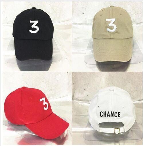 Compre Caliente Chance 3 El Rapero Gorras Streetwear Kanye Oeste Cap ...