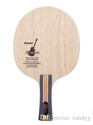 Livraison Gratuite NITTAKU Guitare Acoustique Lame De Ping Ping Ping Pong Bat Ping-Pong Pour La Raquette Livraison Gratuite