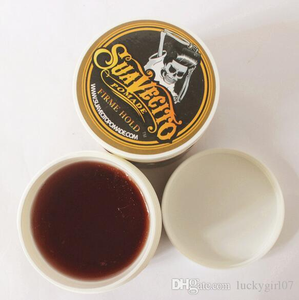 Top Quality 2017 Suavecito Pomade Hair Oil Strong style restoring ancient ways is big skeleton hair slicked back hair oil wax mud
