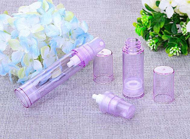 10 ml Garrafa De Perfume De Pulverização Airless Garrafa de Perfume Pequeno Amostra Garrafa de Perfume Melhor para Viagens