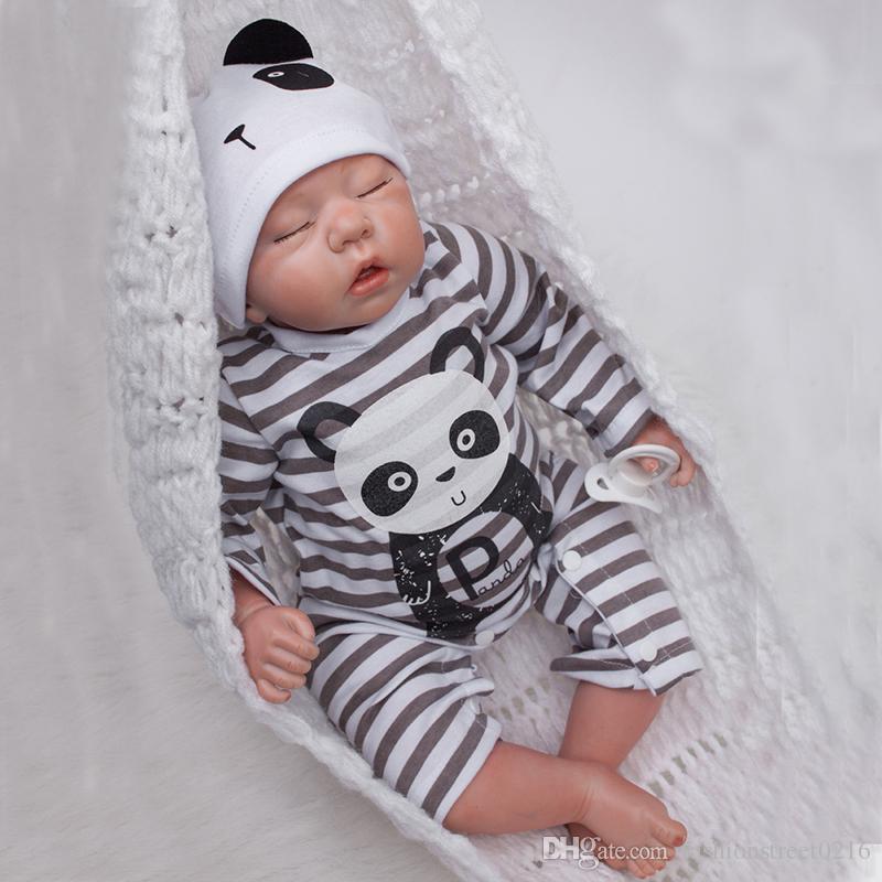 d738248b70ce 20 Inch Boy Doll Handmade Body Silicone Reborn Baby Soft Newborn ...
