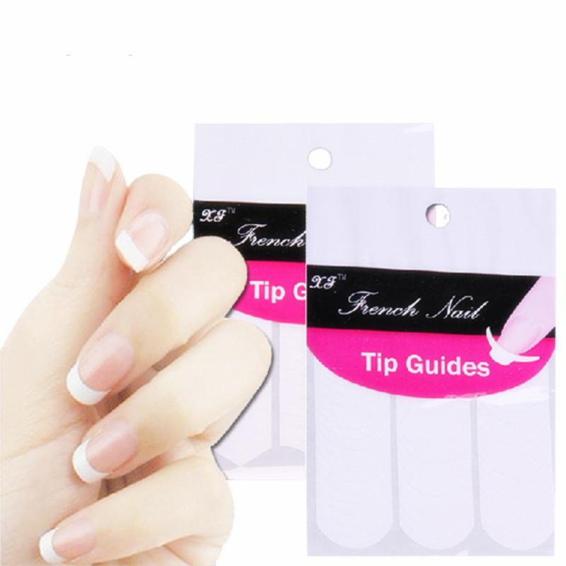 20 Bags=60 Sheets =Diy French Manicure Nail Art Decorations Smile ...