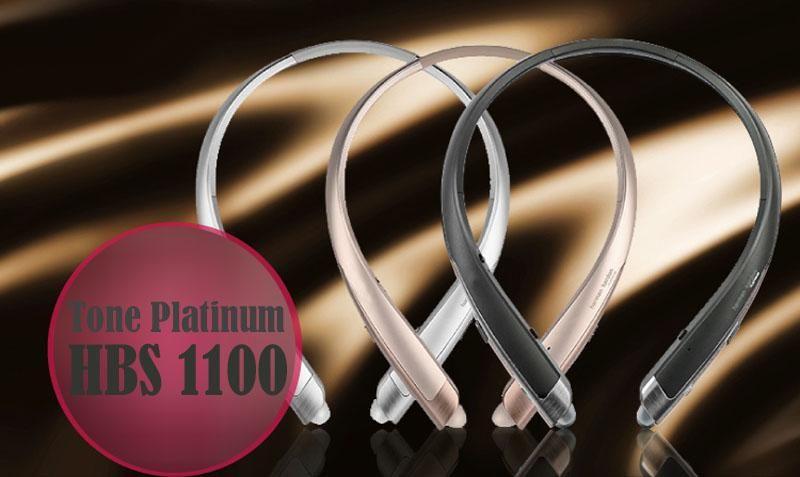 HBS1100 Tone Platunum HBS-1100 Wireless Collar Headset Support NFC Bluetooth 4.1 HIFI Sports Hands-free Headphone