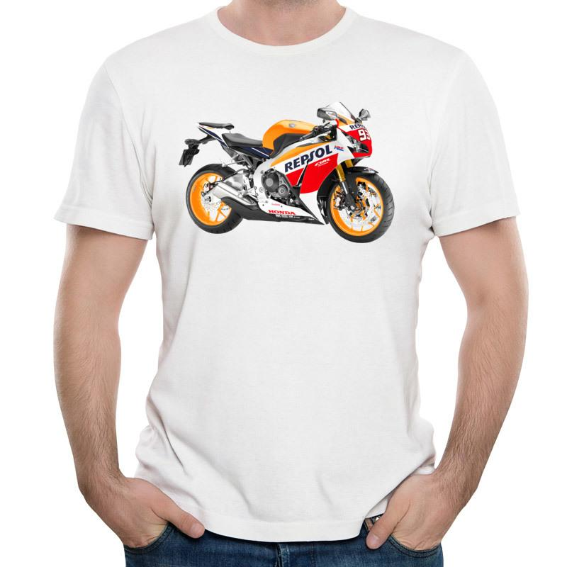 Naprawdę śmieszne koszulki online sprzedaż nowa moda męska 3d naturalne bawełniane koszule tee drukowane motocykle koszulki Darmowa wysyłka