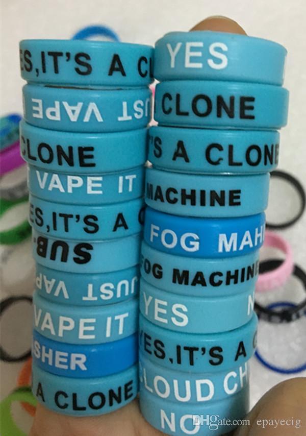 다채로운 Vape 밴드 실리콘 반지 전자 cig 기계적 유리 탱크에 대 한 실리콘 반지 실리콘 반지 미끄럼없는 실리콘 반지 무료 배송