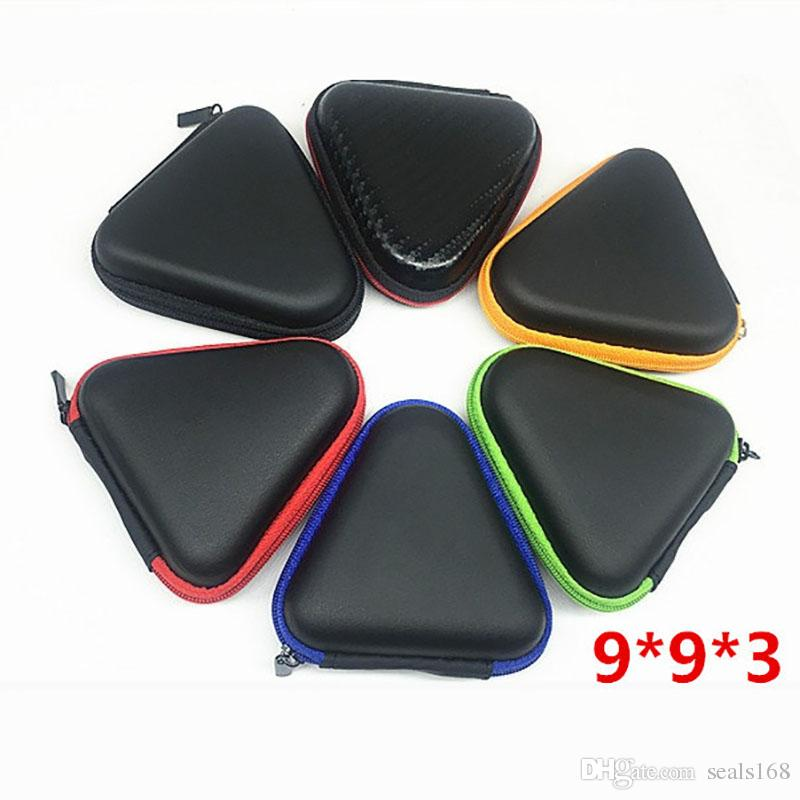 Multiple Colors Eva Fidget Spinner Toys Pouch Storage Bags Bluetooth Headset Phone Cable USB Bags Case Gift Housekeeping Organization HH-T01