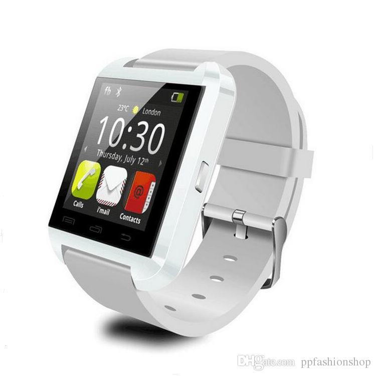 2017 hochwertige neue u8 bluetooth uhr, smart watch, übung schritt schlaf monitor, bluetooth anruf wholesale freies verschiffen