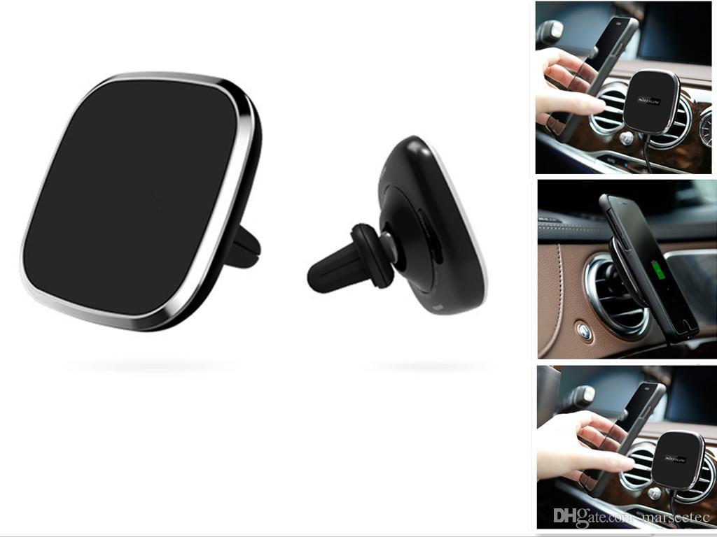 chargeur pour t l phone portable chargeur sans fil voiture magn tique pour samsung galaxy s8 s8. Black Bedroom Furniture Sets. Home Design Ideas