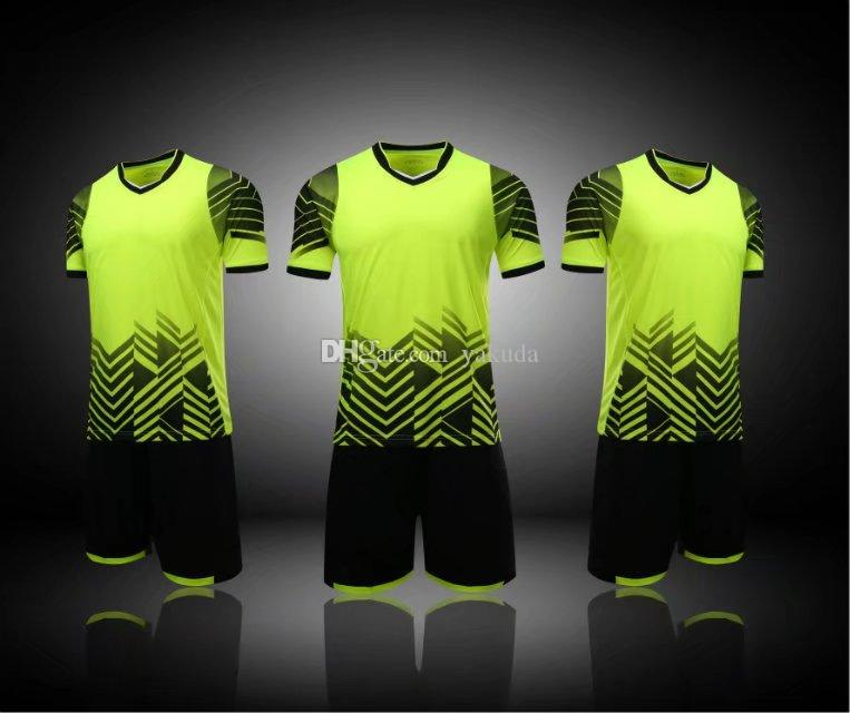 outlet store 6b0d1 a3175 wholesale fashion Blank Soccer Jerseys Sets,2017 new mens Customized Soccer  Tops With Shorts,Training Jersey Short,men Custom Team Jerseys