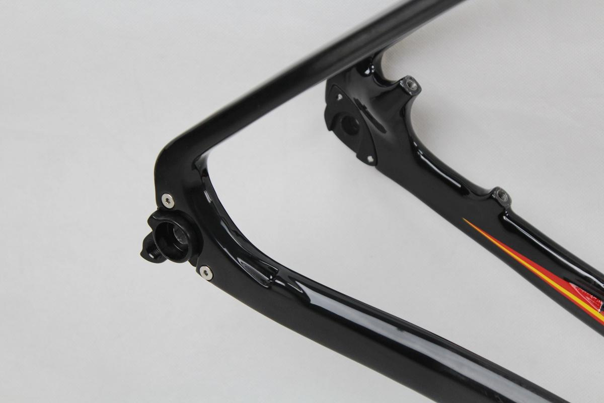 Wokecyc MTB carbon frame 29er come with front fork 100*15mm racing frameset 142x12 rear thru axle mountain frame compatible 135x9