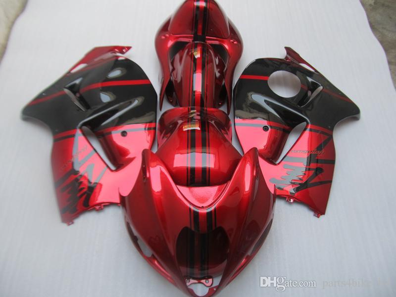 하야부사 GSX1300R 1,909에서 2,007 사이 GSX-R1300 레드 페어링 ZZ491를 들어 NEW HOT 장에서 산 선물 키트