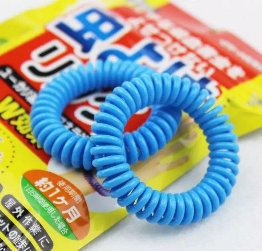 Nouveau bracelet anti-moustique élastique extensible bobine de poigne à poigne à poigne à la main téléphonique Anti-bracelet Anti - Mosquito Bracelet