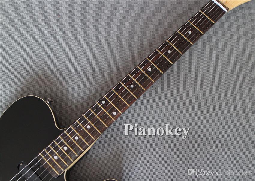 Disponibile OEM originale fatto a mano f semi corpo cavo TELE chitarre stile elettrico, ponte in palissandro, made in China strumenti musicali, spedizione gratuita