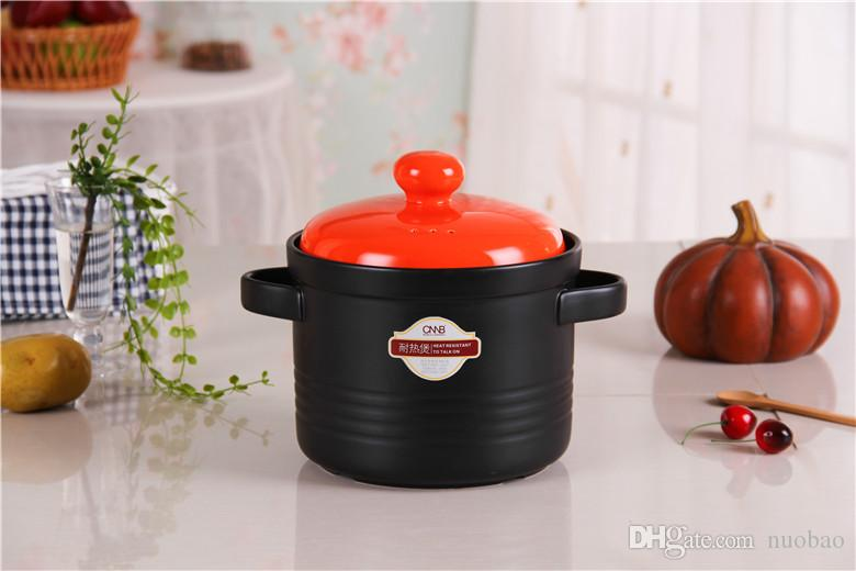 Kochtopf Material großhandel 3l suppe topf hitzebeständigkeit keramik kochtopf