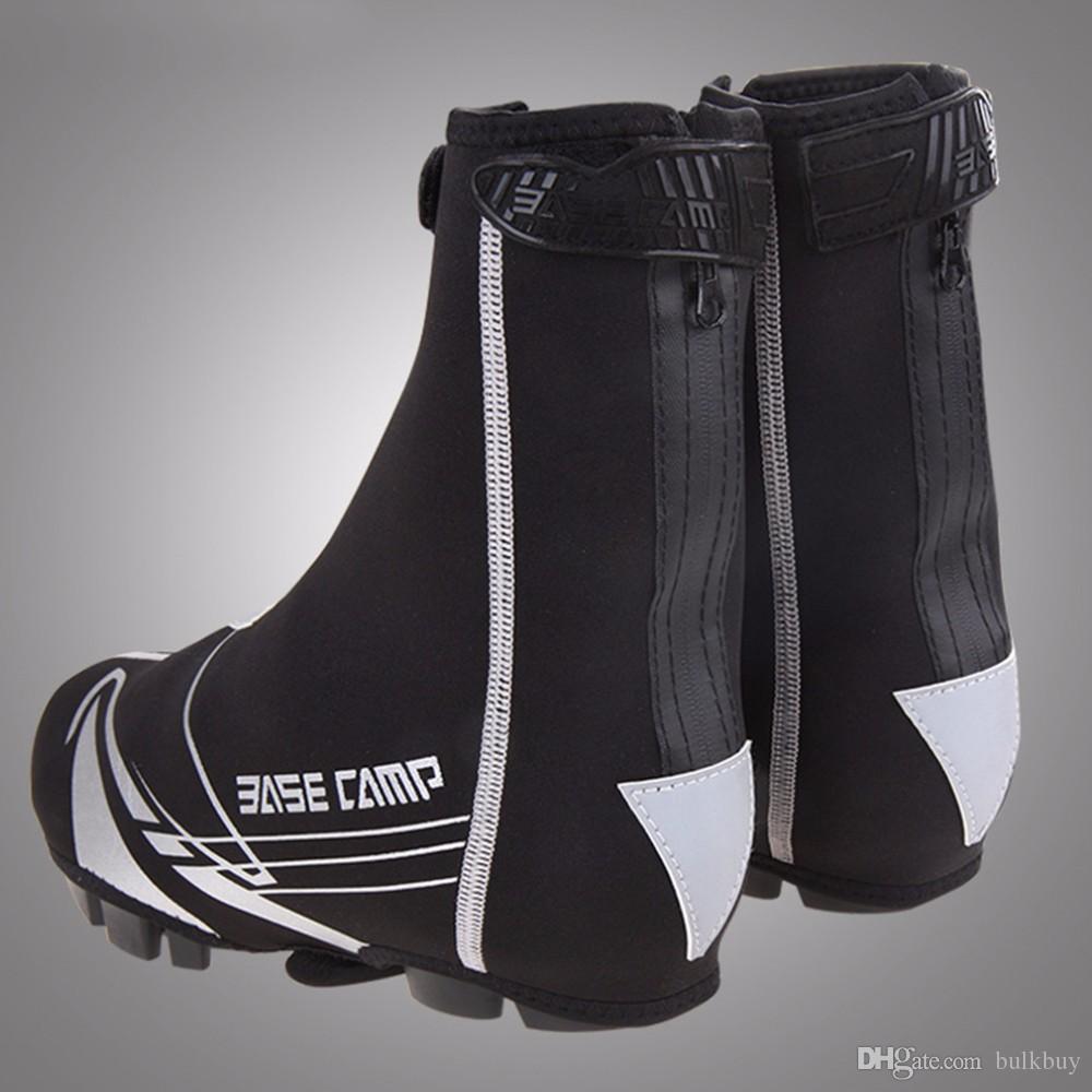 BC-565 BaseCamp Couvre-chaussures de cyclisme Couvre-chaussures de vélo de vélo de route imperméable VTT Couvre-bottes chaud couvre-bottes en gros