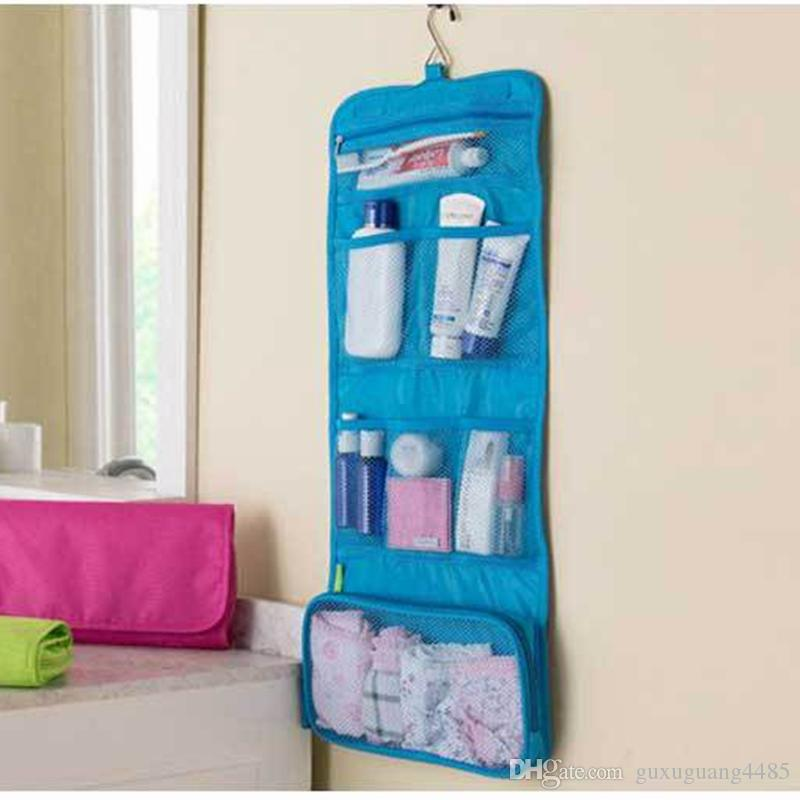 Travel Waterproof Portable Hanging Toiletry Bag Women Cosmetic Organizer Pouch Hanging Cute Wash Bags Makeup Bag Professional