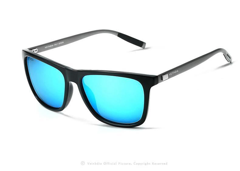 29f9306244278 Compre VEITHDIA Marca Unisex Retro Alumínio + TR90 Óculos De Sol Lente Polarizada  Óculos Vintage Acessórios Óculos De Sol Para Homens   Mulheres 6108 De ...