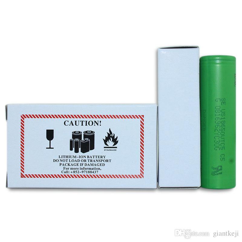 18650 Batteries Lithium Vtc5 18650 Battery For E Cigarette
