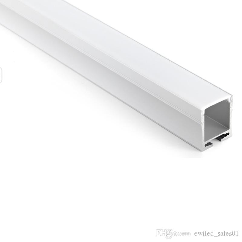 50 X 1 M Sätze / Los Wandeinbaualuminiumprofil geführt und 28mm tief U LED Kanalprofil für Wand- oder Pendelleuchte