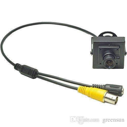 3.6mm Lens Wide Angle Mini Case Camera 540TVL CMOS With Filter CCTV Camera Security
