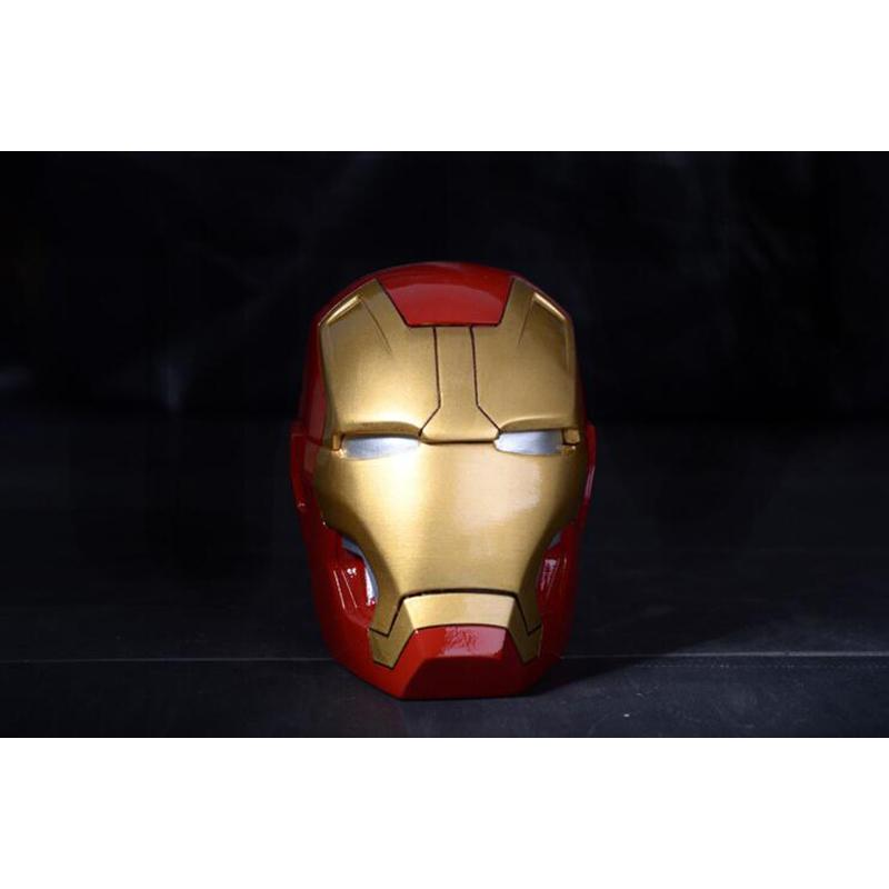 Creative The Avengers Smoking Ashtray Big Size Cartoon Movie Iron Man Ashtrays Fashion Tide Somking Ashtray Birthday Gift For Men
