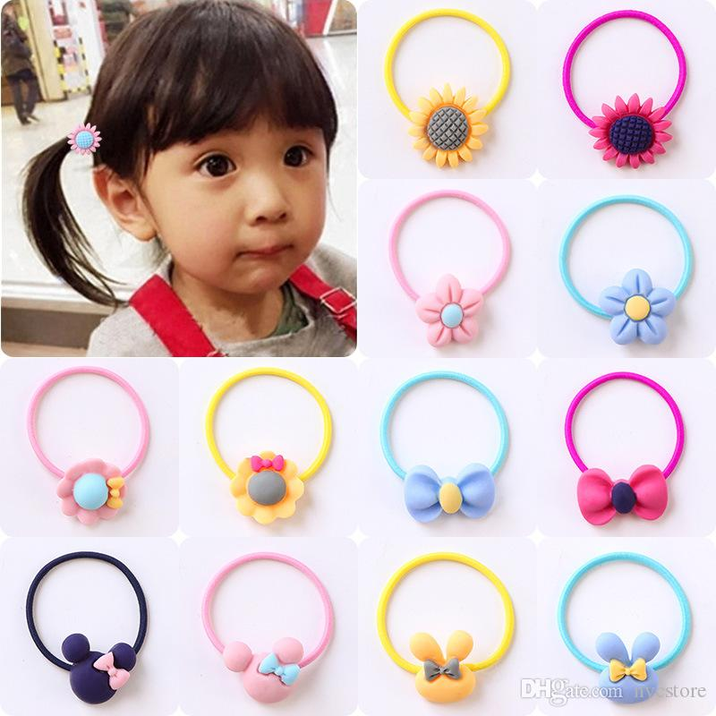 Wholesale Hair Band Children Hair Accessories Kids Elastic Hair Band For  Women Girls Rubber Band UK 2019 From Nycstore a6a25d7c1b3