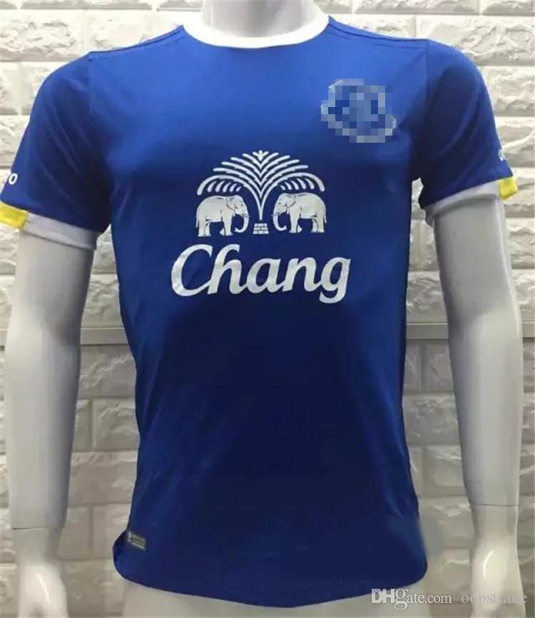 7775f4084 Thai Quality Soccer Jerseys Everton Home Away Third Shirt 2016 2017 Mens FC  Cheap EFC Football Club Set Custom Name Number Champions Nil Satis Nisi  Optimum ...