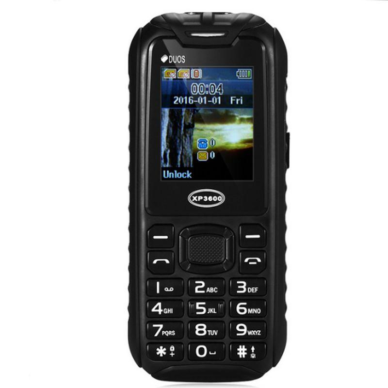 Original XP 3600 keyboard phone Waterproof 1.77 Inch 3500mAh Big Battery Keyboard phone Support Torch Powerbank Function Cellphone Hot Sale