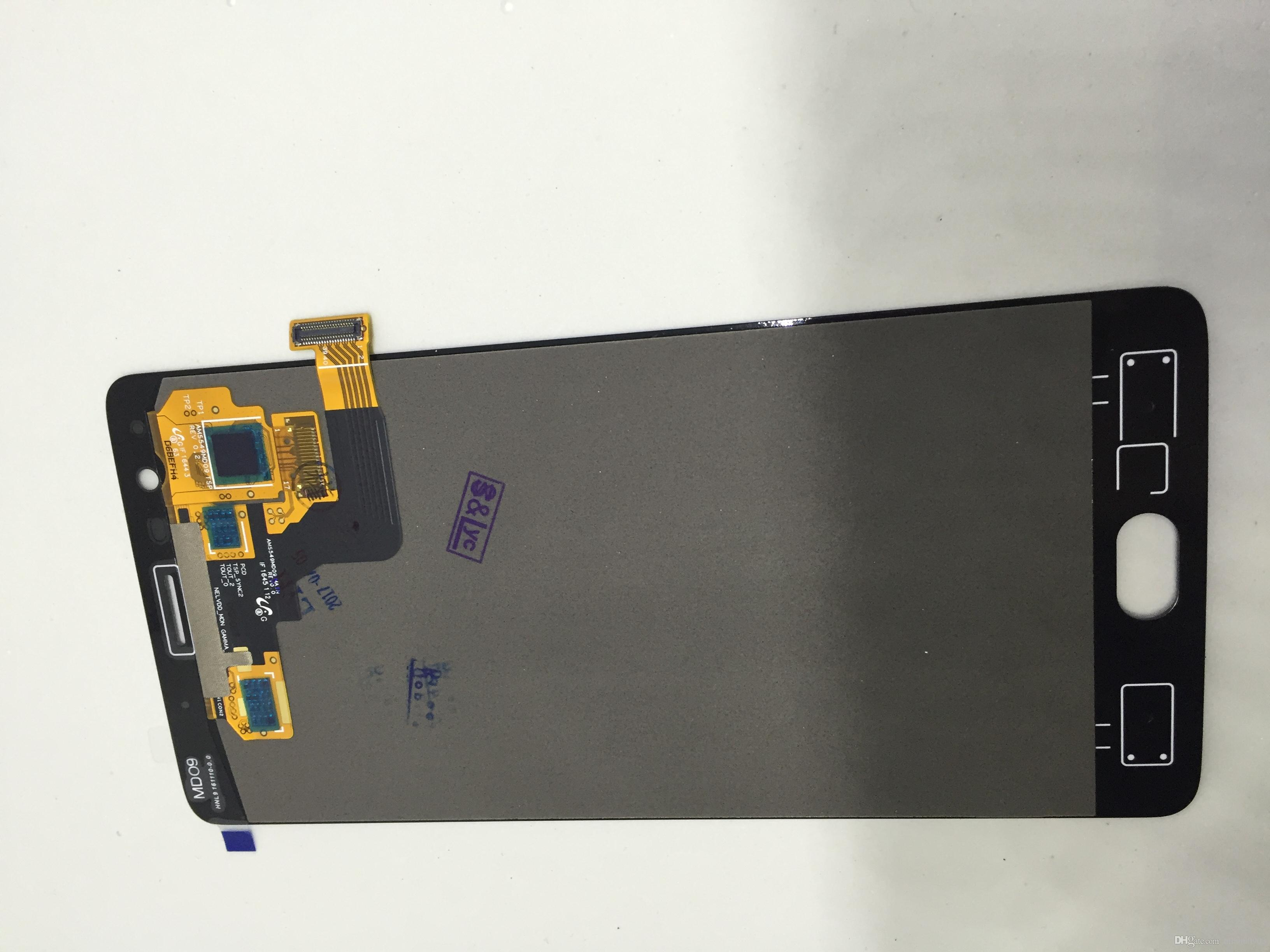 """DHL free for oneplus three 100% Original NEW LCD digitizer display assembly with flex cable One plus+3 touch screen assembly 5.5"""" original"""