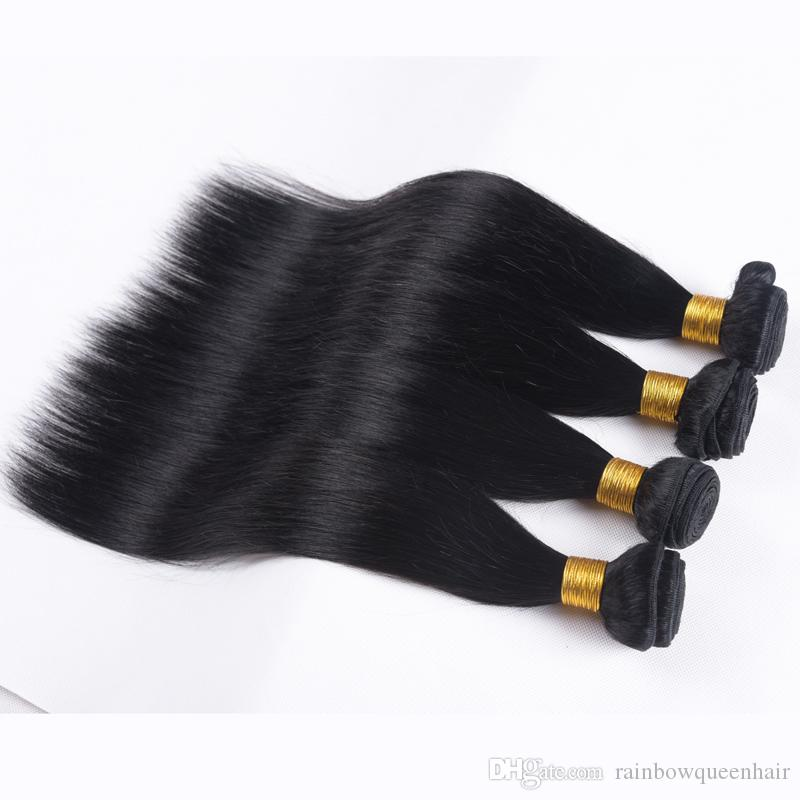Malaysisches reines Haar der reinen Königin-gerades Menschenhaar-Webart-malaysisches gerades Haar billig Malaysisches unverarbeitetes Jungfrau-Bündel-Abkommen