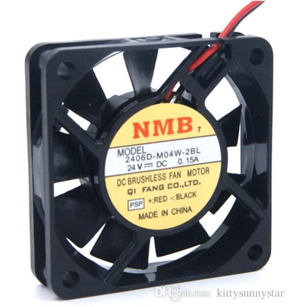 NMB-MAT 6cm 2406D-M04W-2BL 6015 24V Ventola di raffreddamento a 2 fili