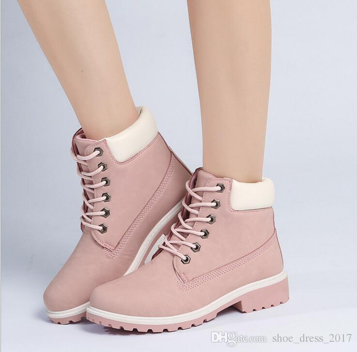 d1b3512c0009ce Großhandel 2016 Frauen Männer Mode Martin Stiefel Schneeschuhe Outdoor  Casual Günstige Mode Stiefeletten Herbst Winter Schuhe Von Shoe dress 2017