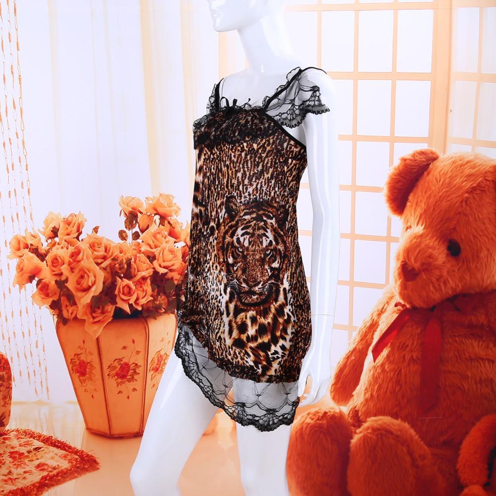 Sexy lingerie dantel leopar seksi kostüm babydoll şeffaf erotik lingerie lenceria seksi iç çamaşırı bornoz seks ürün sıcak